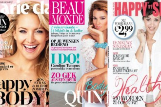 Marie Claire Beau Monde Happy in Shape