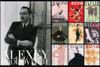 Alexey Brodovitch Harper's Bazaar art director magazine design
