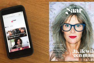 Saar magazine in print - bladendokter