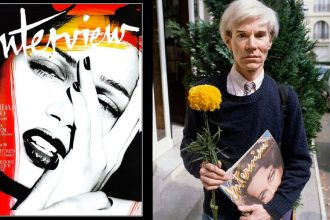 Andy Warhol Magazine Interview