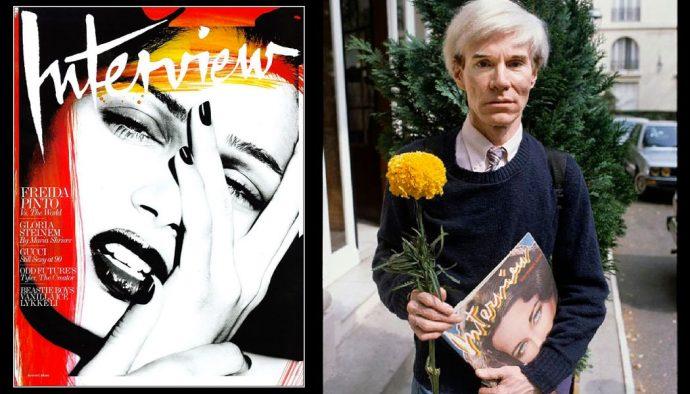 Andy Warhol Magazine Interview