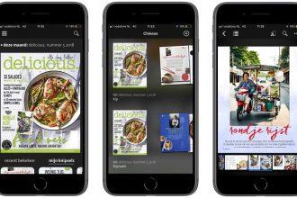 Digimaq, een tijdschrift app