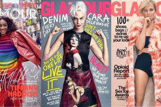 De Amerikaanse Glamour verschijnt niet langer in print