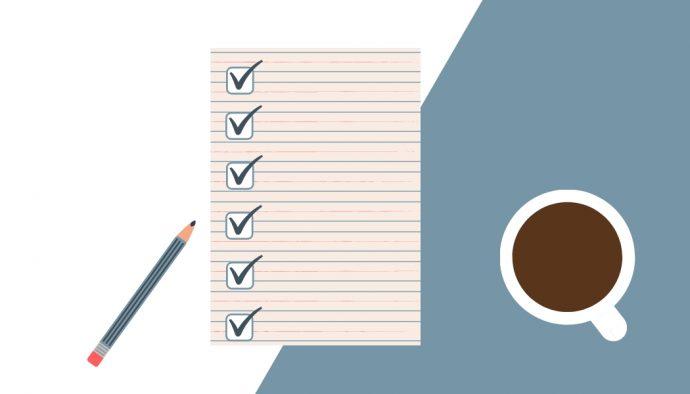 seo checklist coffee