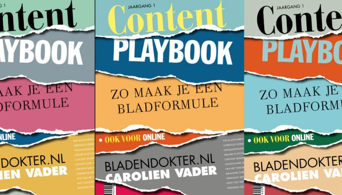Content Playbook - zo maak je een bladformule ook voor online