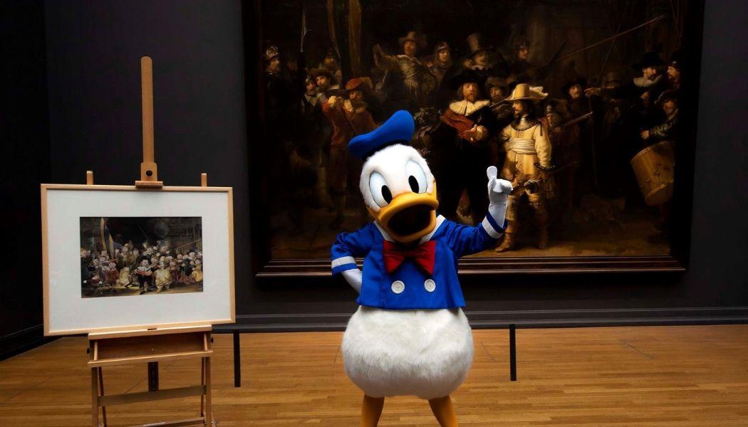 BLDK - Donald duck rijksmuseum kunstcollectie