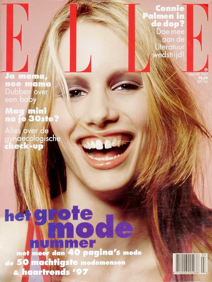 Cover Elle maart 1997