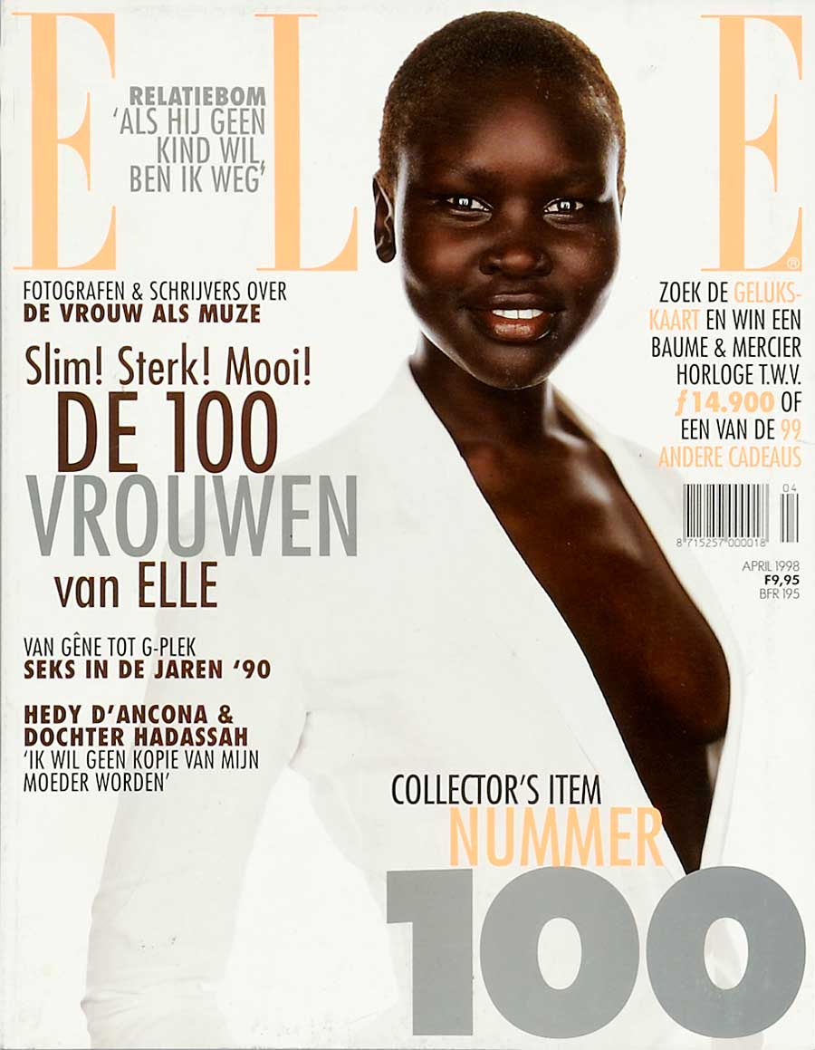 Elle cover april 1998