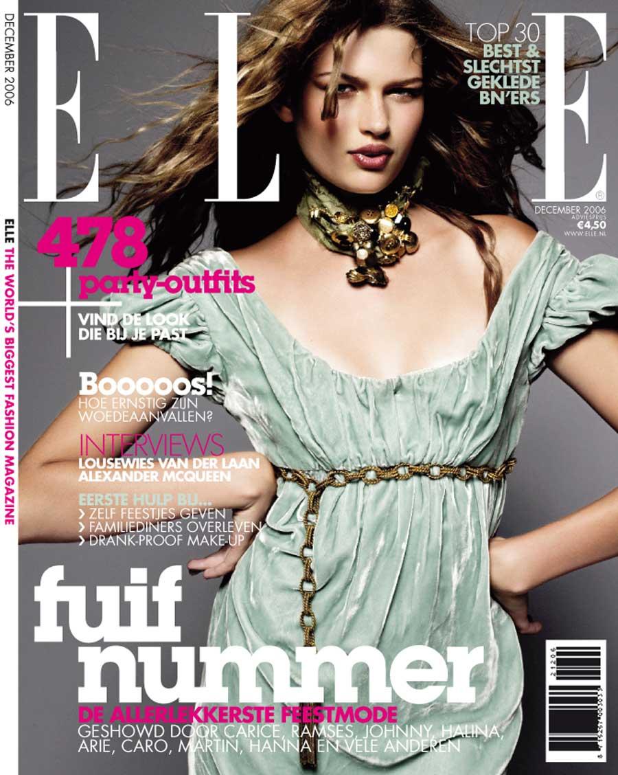 Cover Elle 2006