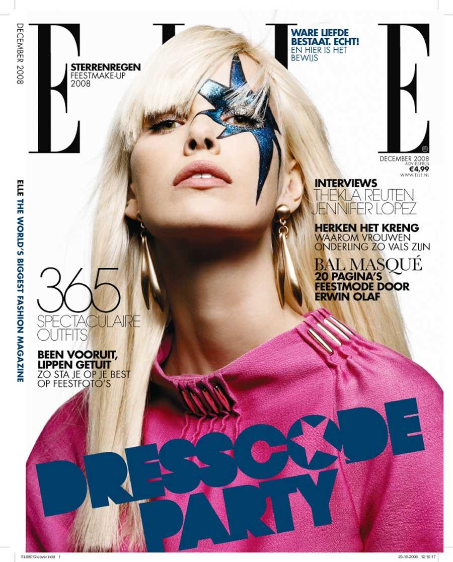 Cover Elle 2008