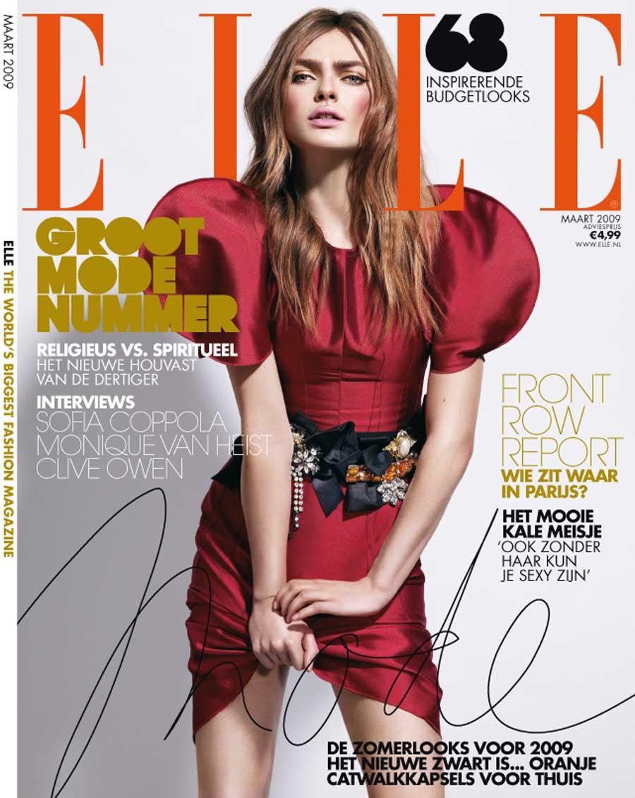 Cover Elle 2009