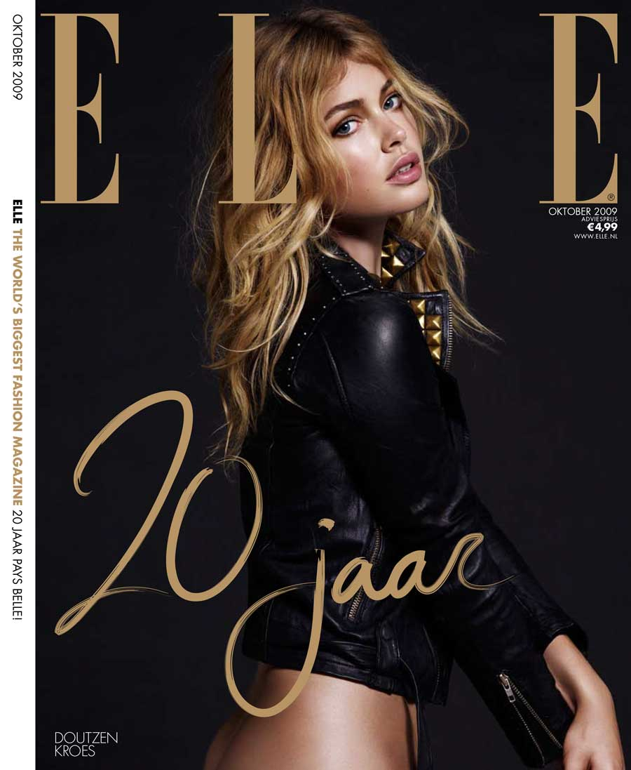Cover Elle 20 jaar september 2009