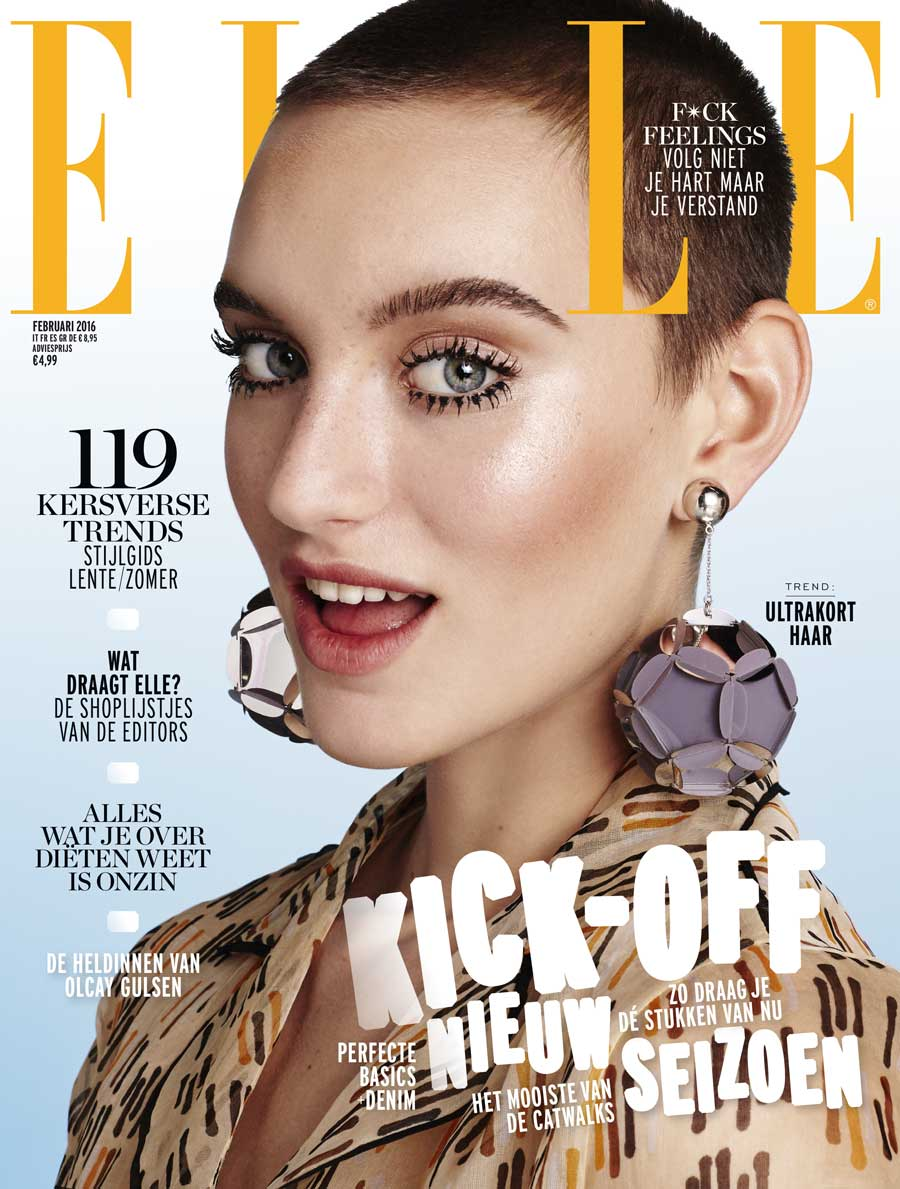 Cover Elle 2016
