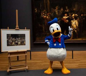 Mercur Partnership 2019 Donald Duck en Rijksmuseum