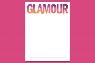 Glamour komt op 5 februari 2020 met een blanco cover