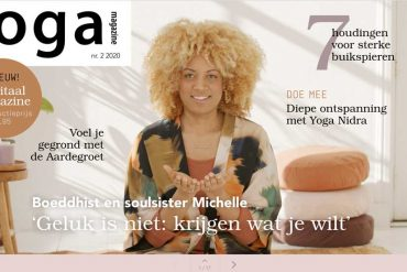 Cover Yoga Magazine digitaal