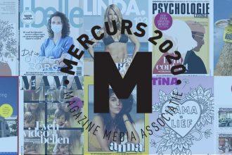 37 magazines genomineerd voor de Mercurs 2020