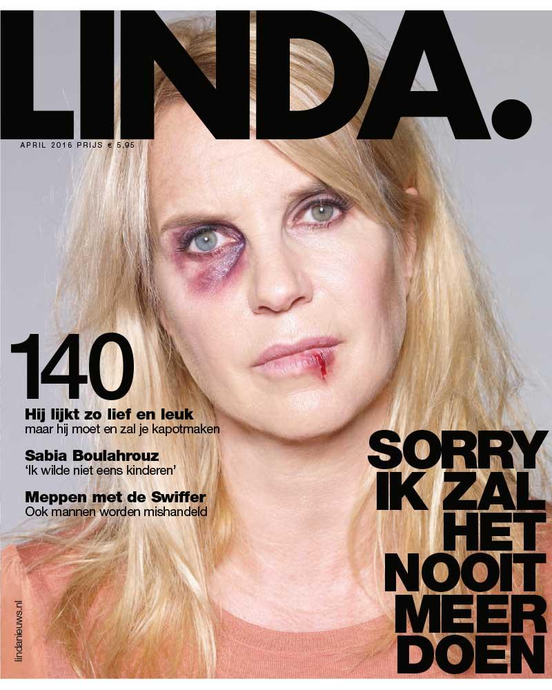 Cover LINDA over huiselijk geweld 2016