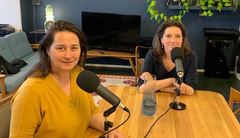 Carolien Vder van Bladendokter bespreekt met Barbara van Erp, Snippet Media, nieuwe verdienmodellen voor uitgevers