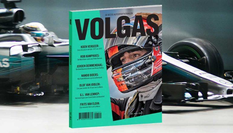 Volgas is een nieuw literair magazine over de autosport