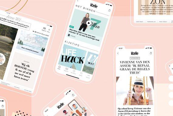Libelle lanceert nieuwe site, app en digitaal magazine